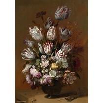 Rijksmuseum: Stilleven met tulpen (1000)*