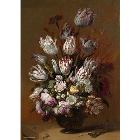 Puzzelman Rijksmuseum: Stilleven met tulpen (1000)*
