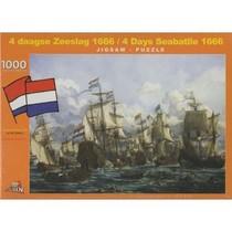 Puzzel 4 Daagse Zeeslag 1666 (1000)