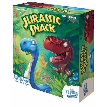 the flying games Jurassic Snack