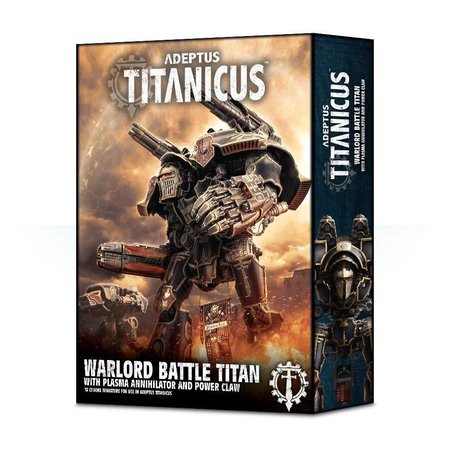 Games Workshop Adeptus Titanicus: Warlord with Plasma Annihilator