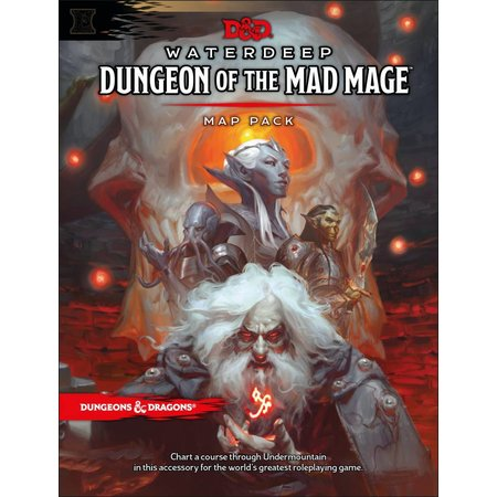 Wizards of the Coast D&D 5th Edition Map Pack: Waterdeep Chapter 2 - Dungeon of the Mad Mage
