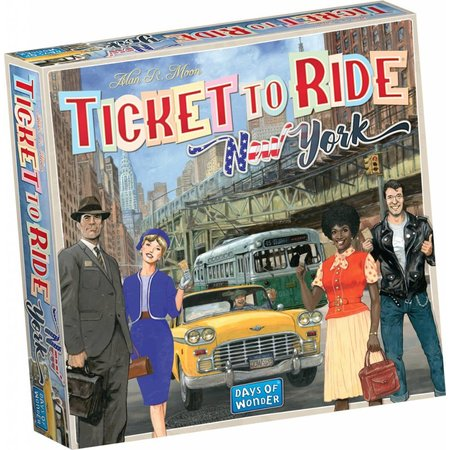 Days of Wonder Ticket to Ride New York