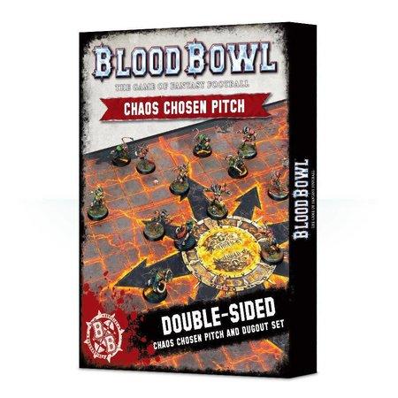 Games Workshop Blood Bowl: Chaos Chosen Pitch & Dugout
