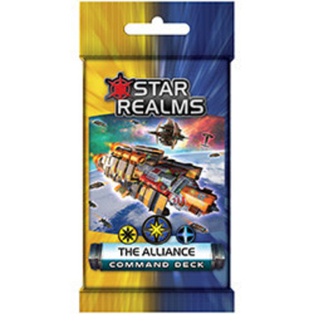 White Wizard Games Star Realms Command Deck-The Alliance