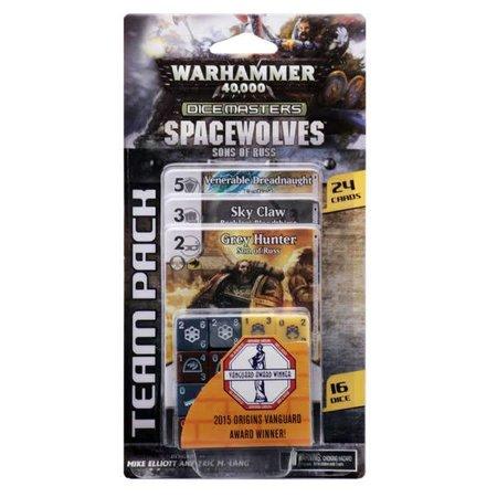 WizKids Warhammer 40.000 Dice Masters Space Wolves Team Pack