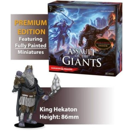 WizKids Assault of the Giants D&D Boardgame Premium Edition