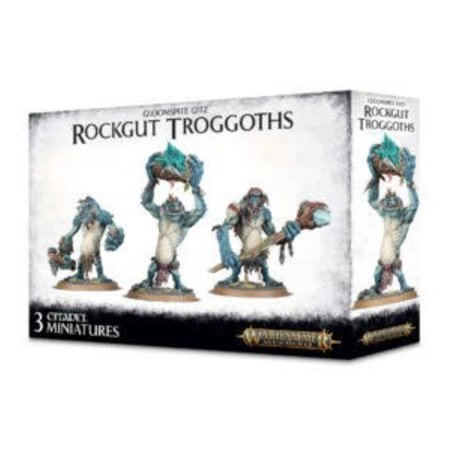 Games Workshop Gloomspite Gitz: Rockgut Troggoths