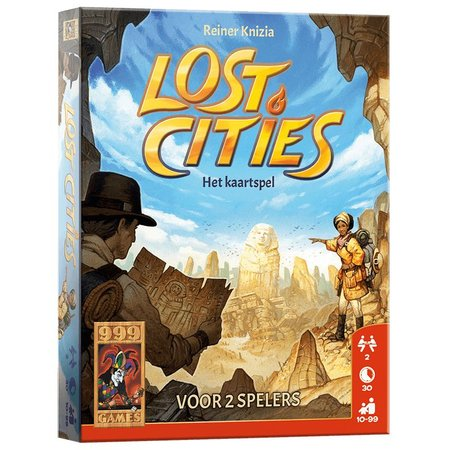 999-Games Lost Cities: Kaartspel