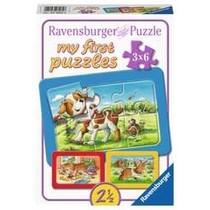 My first puzzles: Mijn dierenvriendjes (3x6)