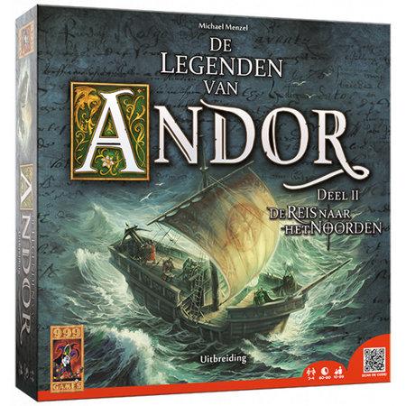 999-Games De Legenden van Andor II: Reis naar het Noorden - Uitbreiding