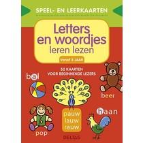Speel- en leerkaarten: letter en woordjes