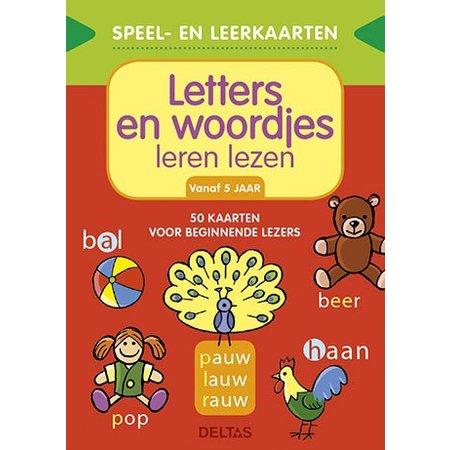 Deltas Speel- en leerkaarten: letter en woordjes