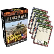 FOW 4.0: Fighting First Command Cards