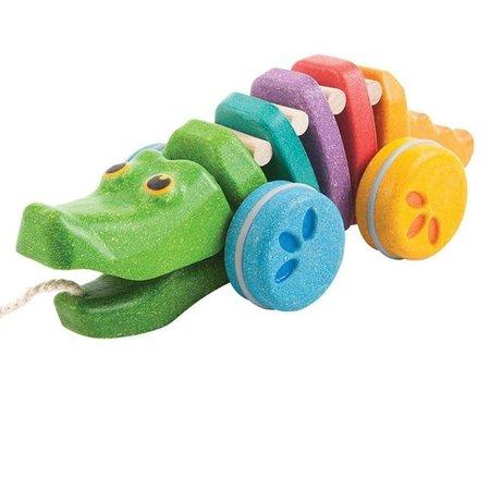 Plan Toys PT - Dancing Alligator - Rainbow Edition