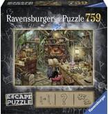 Ravensburger Escape puzzle: De heksenkeuken (759)