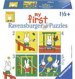 Ravensburger My first puzzles: Nijntje in de speeltuin (2,3,4,5)
