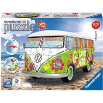3D Puzzle: Volkswagen T1 hippie style(162)