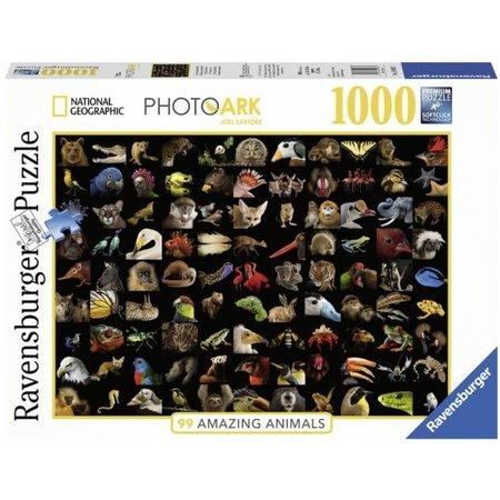 Ravensburger 99 Prachtige Dieren (1000)