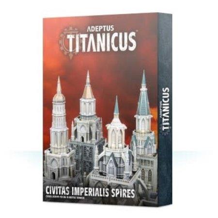 Games Workshop Adeptus Titanicus: Civitas Imperial Spires