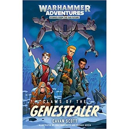 Black Library Warhammer Adventures: Claws of the Genestealer