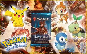 Pokemon kaartspel avond