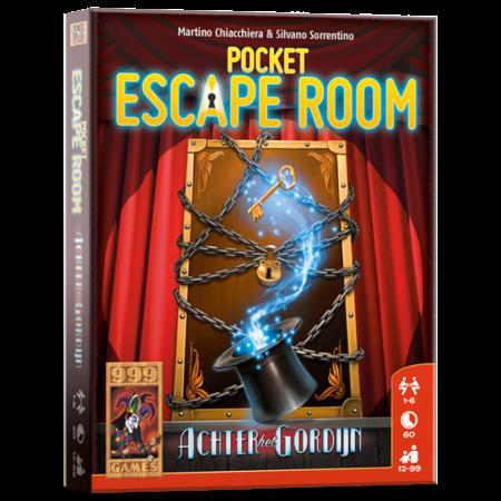 999-Games Pocket Escape Room Achter het Gordijn