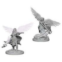 D&D Miniatures Unpainted: Aasimar Wizard