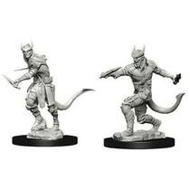D&D Miniatures Unpainted: Ttiefling Rogue