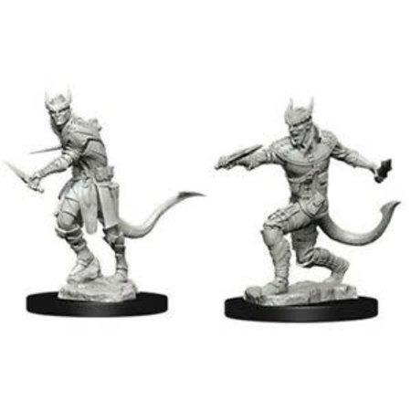 WizKids D&D Miniatures Unpainted: Ttiefling Rogue