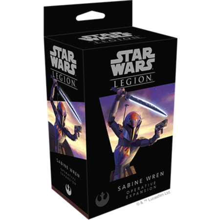 Fantasy Flight Star Wars Legion: Sabine Wren Operative Expansion*