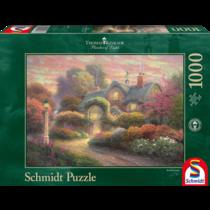 Thomas Kinkade: Rosebud Cottage (1000)