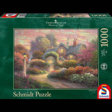 Schmidt Thomas Kinkade: Rosebud Cottage (1000)