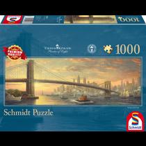 Thomas Kinkade: Brooklyn Bridge, NY (1000)