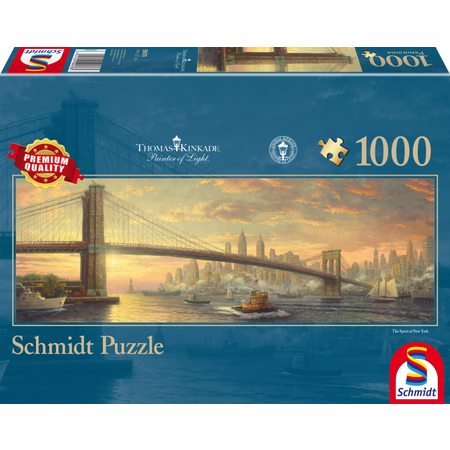Schmidt Thomas Kinkade: Brooklyn Bridge, NY (1000)