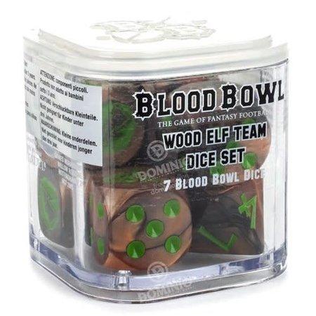 Games Workshop Blood Bowl: Wood Elf Team Dice Set