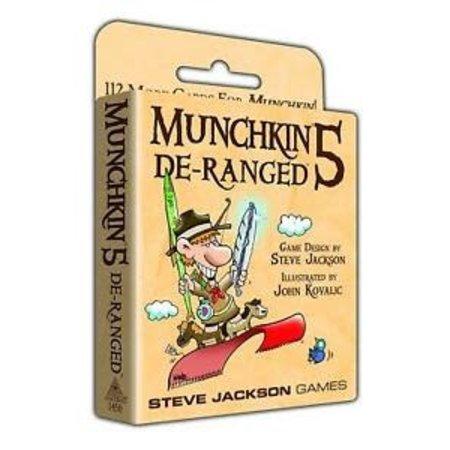 Steve Jackson Games Munchkin 5: De-Ranged (Eng) - Uitbreiding