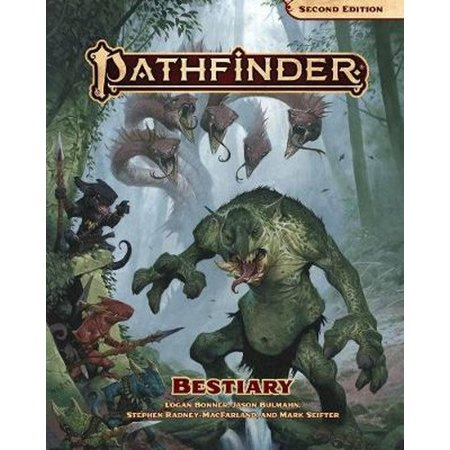 Wizards of the Coast Pathfinder Bestiary 2nd Edition