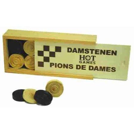 HOT games Damstenen Palmhout 32mm in kist