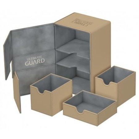 Ultimate Guard Ultimate Guard Twin Flip'n'Tray Deck Case Xenoskin 160+ Sand