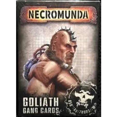 Games Workshop Necromunda: Goliath Gang Cards