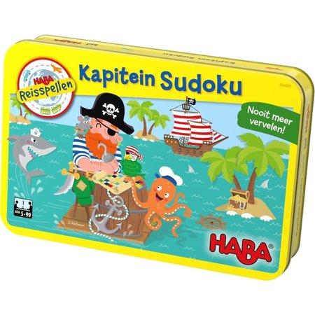 Haba Haba Reisspel: Kapitein Sudoku