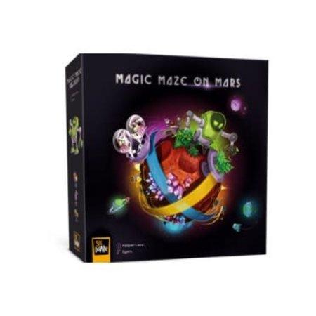 Sit Down! Magic Maze on mars