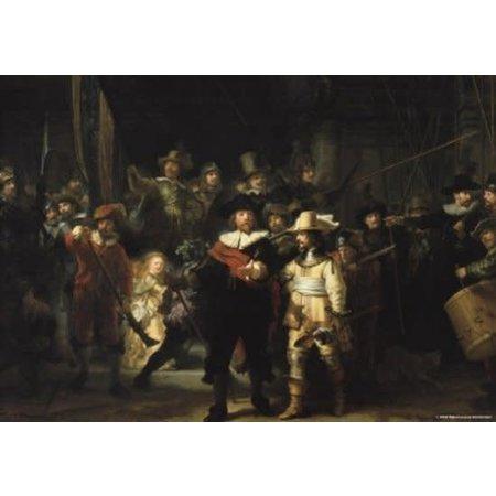 Puzzelman Rijksmuseum: De Nachtwacht (1000)