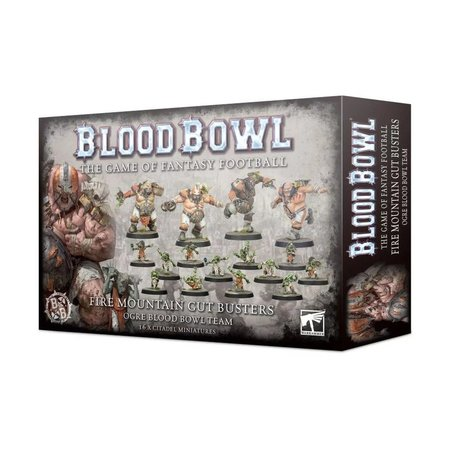 Games Workshop Bloodbowl: The Fire Mountain Gut Busters