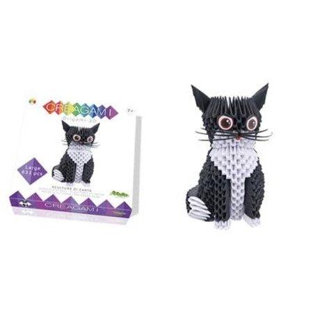 CreativaMente Creagami: Large Cat/Kat (Origami)