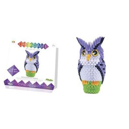 CreativaMente Creagami: Large Owl/Uil (Origami)