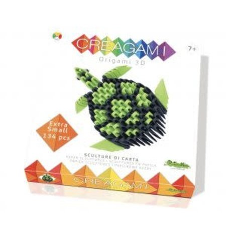 CreativaMente Creagami: Extra Small Turtle/Schildpad (Origami)