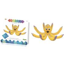 Creagami: Medium Octopus/Inktvis (Origami)