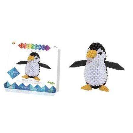 CreativaMente Creagami: Medium Penguin/Pinguin (Origami)